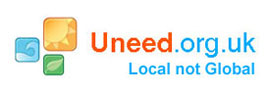 Site developers logo Uneed local not global.